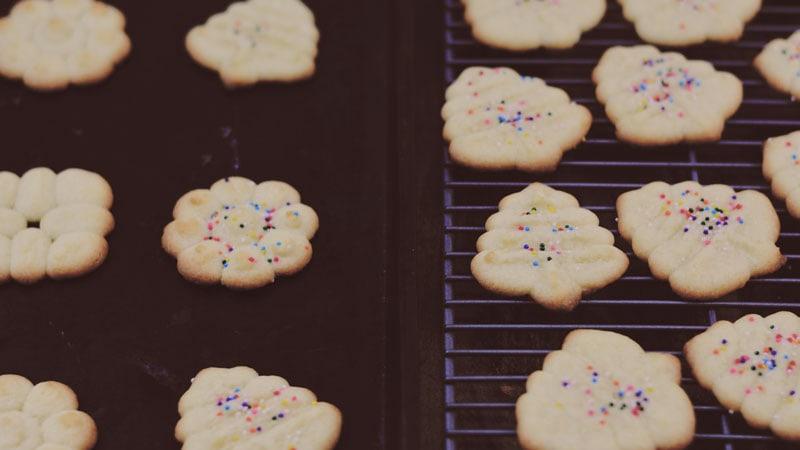 Spritzgebäck: German Butter Cookies