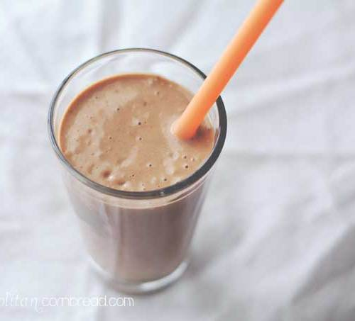 "Chocolate ""Milk Shake"" Smoothie"