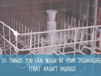 20 Things You Can Wash in your Dishwasher - that Aren't Dishes! | Homemaker Helps from Cosmopolitan Cornbread
