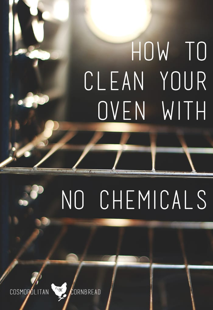 Cleaning your oven doesn't have to be a toxic mess. Learn to clean your oven easily without nasty chemicals.