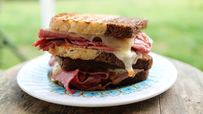 How to Make Reuben Paninis