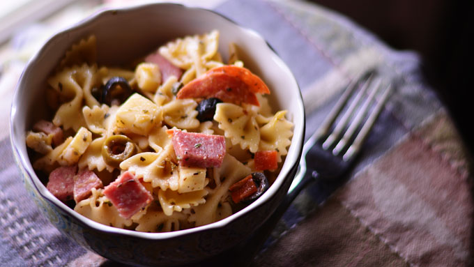 Muffuletta Pasta Salad & 25 more Summer Salad Recipes