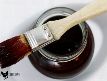 Get saucy at your next barbecue with this Blueberry Sriracha Barbecue Sauce from Cosmopolitan Cornbread