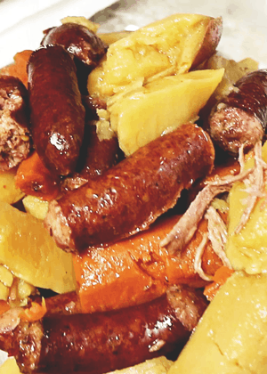 Mr. Smith's Crazy Cajun Sausage & Roast Beef Instant Pot Recipe