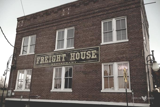 The Freight House - An historic restaurant in Hartselle, Alabama. | Cosmopolitan Cornbread