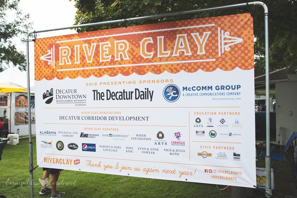 The River Clay Fine Arts Festival in Decatur, Alabama | Cosmopolitan Cornbread