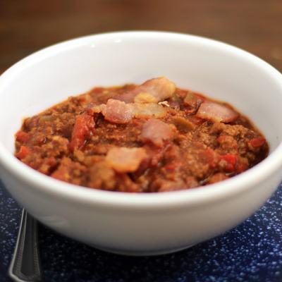 Smokey Bacon Chili | Paleo