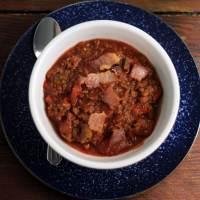 Smokey Bacon Chili (Paleo)