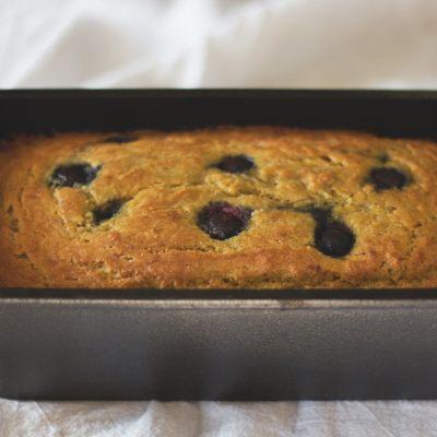 Paleo Blueberry Bread