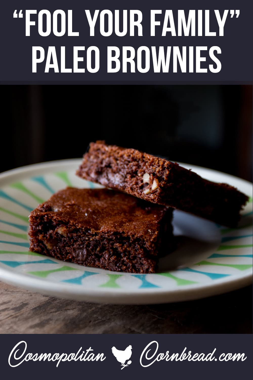 """These PALEO brownies are so good, you will absolutely fool your friends and family into thinking that you accidentally made """"regular"""" brownies. There's no mistaking how good these are."""