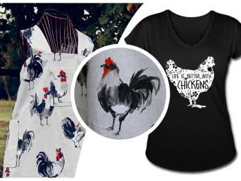 "Holiday shopping ideas for the ""Chicken People"" in your life."