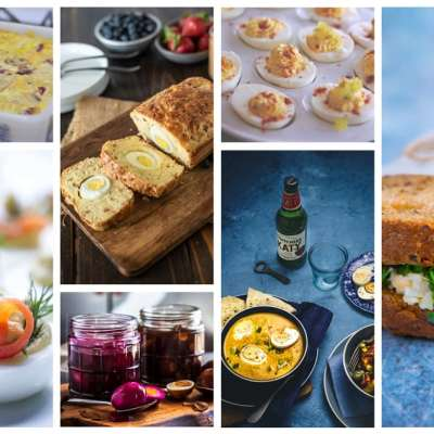 35 Recipes using Hard Cooked (Hard Boiled) Eggs