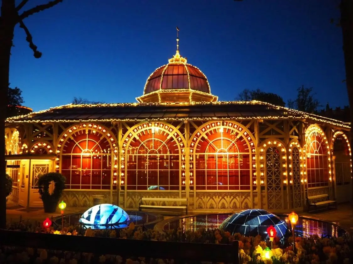 Canal cruise and Tivoli Gardens