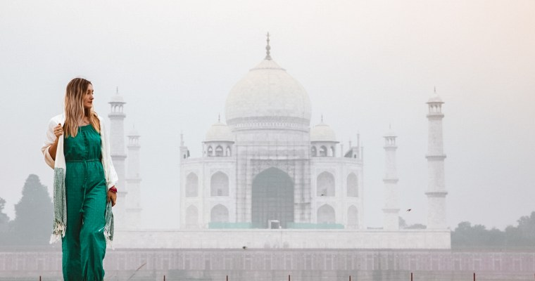 Taj Mahal from different view