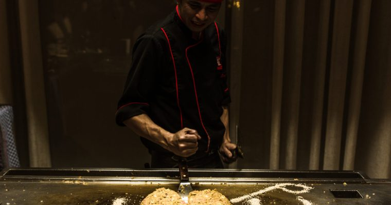 Dining at Benihana – Japanese restaurant in Dubai