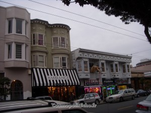 Installation au coeur d'Haight Ashbury