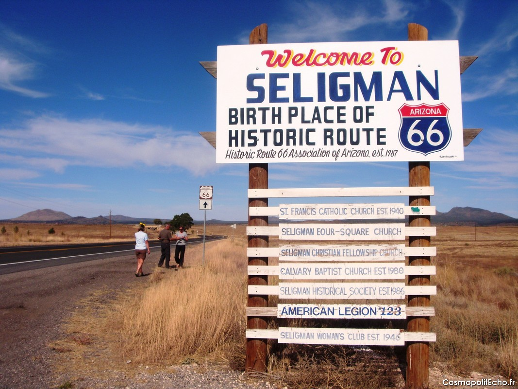 road trip route 66 seligman