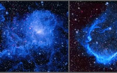 Mega-Flares From Stars Shape Surroundings