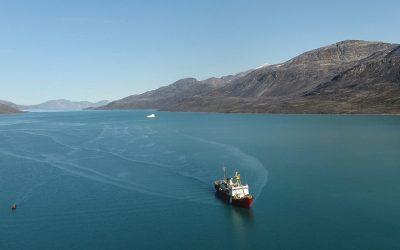 Icebergs Can Trigger Underwater Landslides