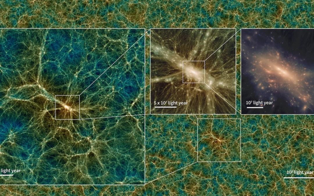 NAOJ Releases New Universe Simulation to Explore