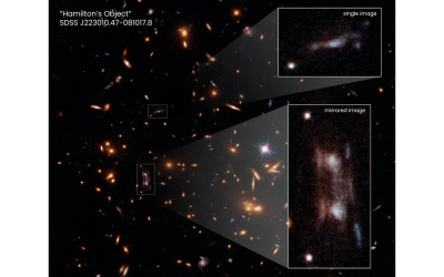 Mirrored Galaxies Smudge Hubble Images