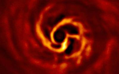 Planet birth in AB Aurigae