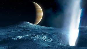 Oceanic worlds in the solar system
