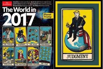 The world in 2017 Planet Trump