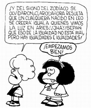 mafalda horoscopo