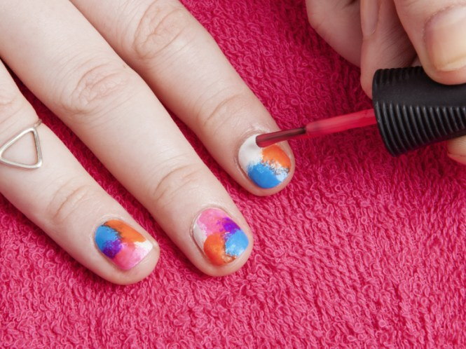 Nail Art Step By Instructions Ideas