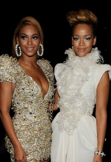 Beyoncé and Rihanna