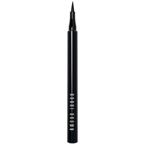 This felt-tip pen makes application a breeze and you can line as heavily or as lightly as you like. We've found that it's good for drawing flicks and the blacker-than-black formula is seriously impressive. It works well over eyeshadow to create more definition and it lasts well without smudging.  Bobbi Brown Ink Liner, £21