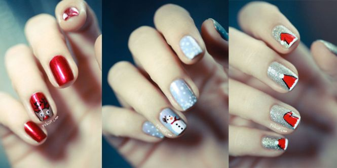 Christmas And Winter Nail Designs