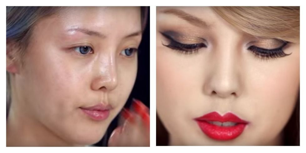 Korean beauty blogger Park Hye Min transformed herself into Taylor Swift and it's INCREDIBLE