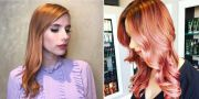 rose hair color trend