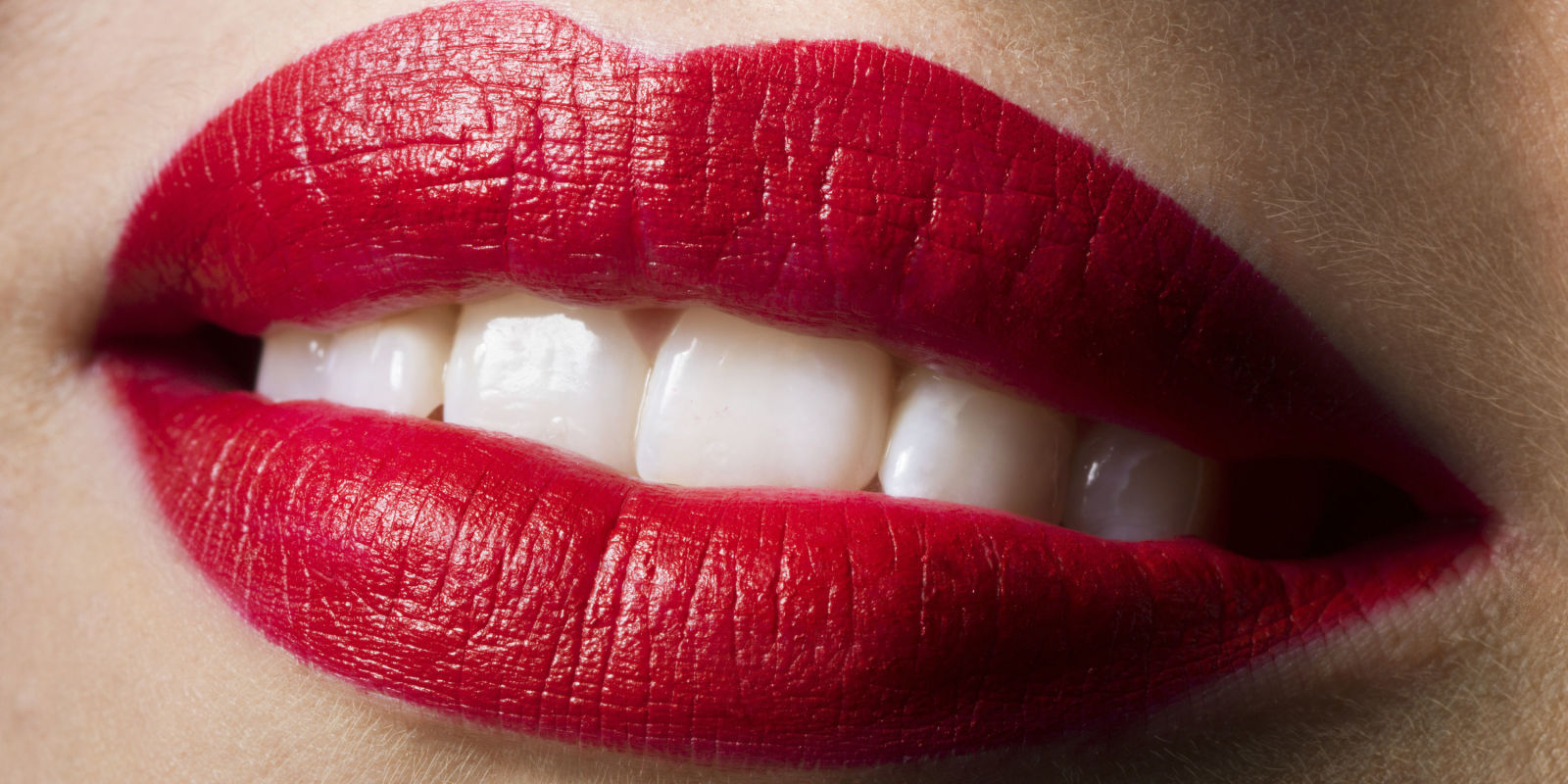 This is how one lipstick left a womans lips