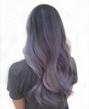 smokey lilac hair hottest