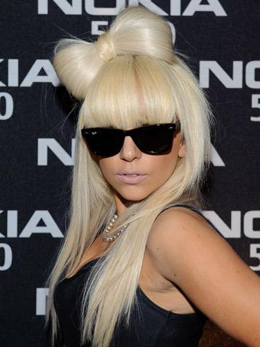 Lady Gaga Hair Hits