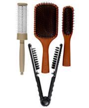 free salon hair brush aveda