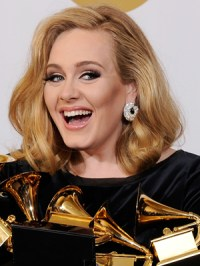 How did Adele get her hot new hair colour at the Grammys?