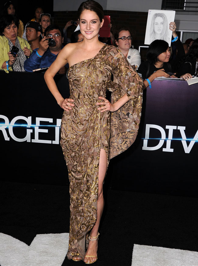 Maggie Q goes commando at Divergent premiere  Celebrity style news