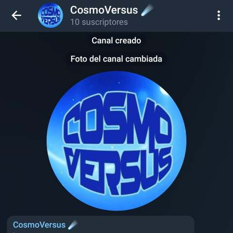 canal telegram de cosmoversus