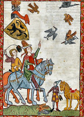 La Chasse Au Moyen Age : chasse, moyen, Fauconnerie, Histoire.