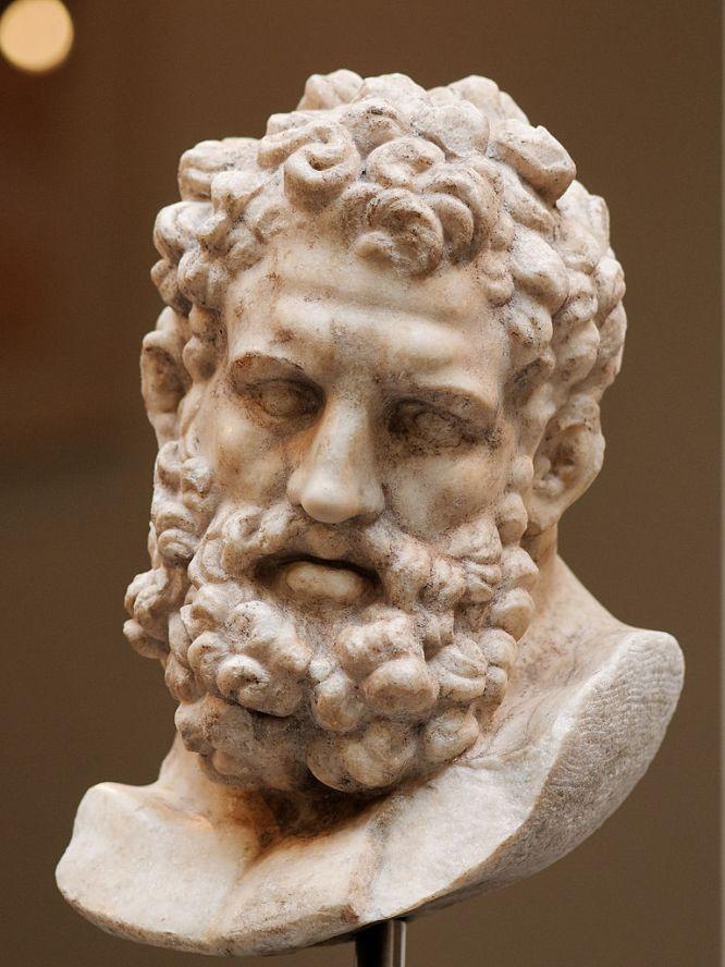 Head of Farnese Heracles