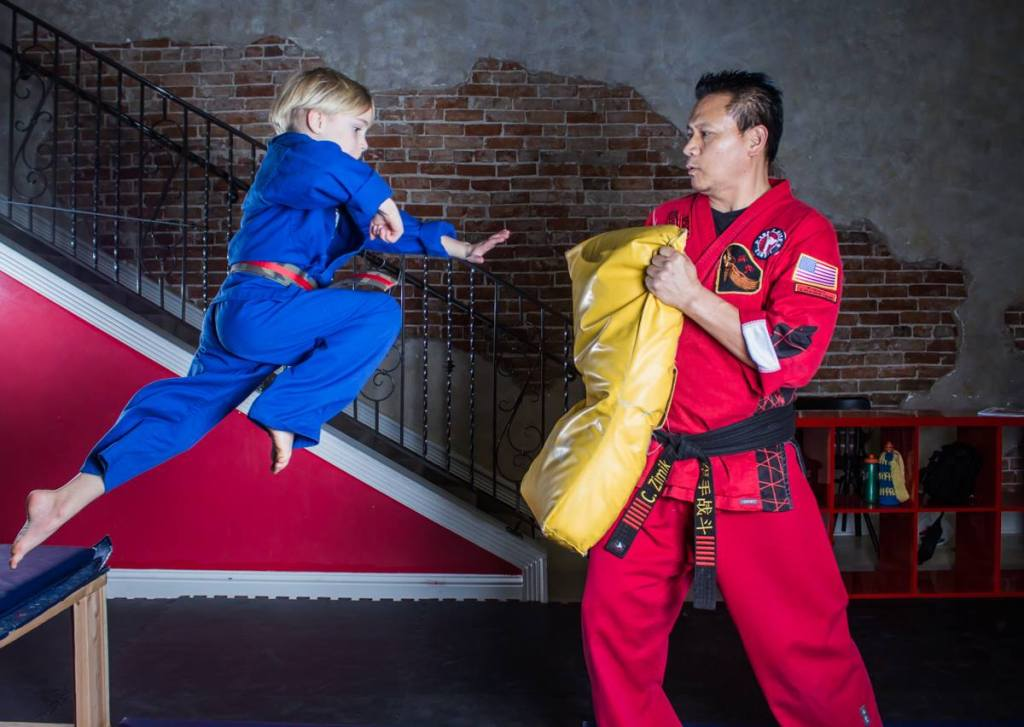 Reuben fly kung fu