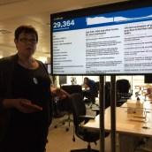 Als wir uns die Büroraume anschauten, tummelten sich mal eben fast 30.000 User auf der Seite von gov.uk - nicht schlecht!