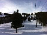 Heading up Rocky Mountain SuperChair