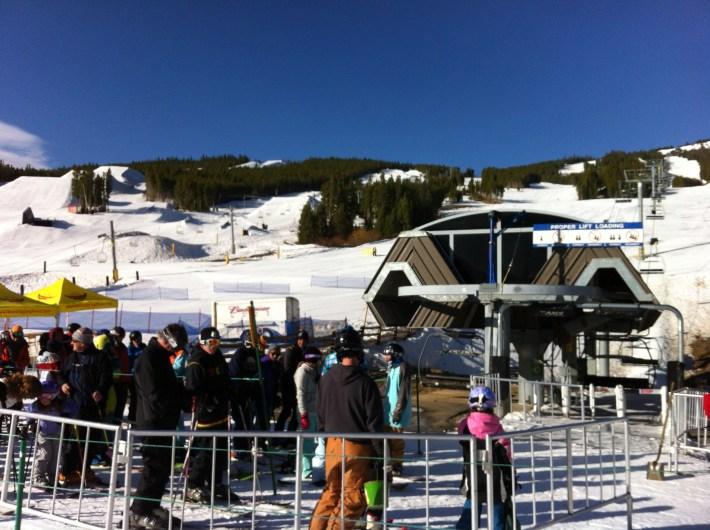 At Colorado Superchair