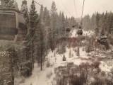 Gondola ride up to Breckenridge