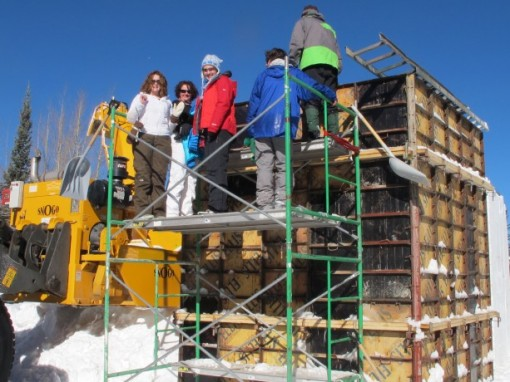 Photo of snow stomping courtesy Blog.Breckenridge.com